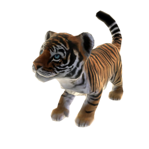 Zoo Tycoon Royal Bengal Tiger Pet