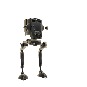 AT-ST Haustier