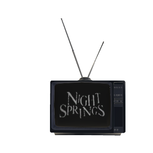 Night Springs TV set Prop