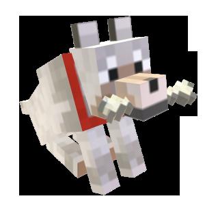 Minecraft Zahmer Wolf