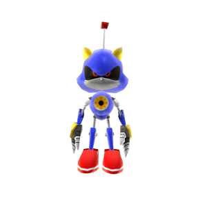 Metal Sonic de juguete