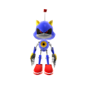 Brinquedo Metal Sonic