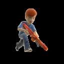 Nerf Centurion Toy Blaster