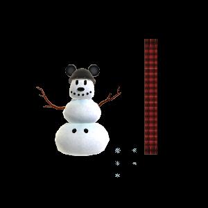 Baue einen Schneemann