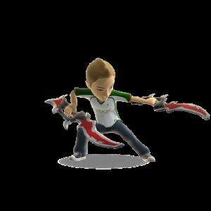 Dual Toy Havoc Daggers