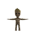 Baby Groot Avatar Companion