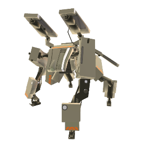 Schwerer Roboter