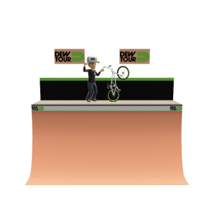 Dew Tour Half Pipe - BMX