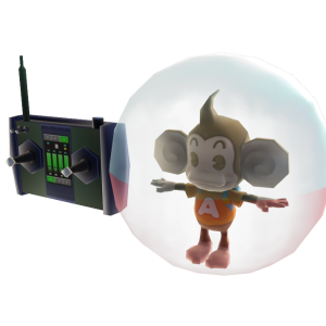 Adereço AiAi Monkey Ball