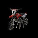Moto MX de 50cc