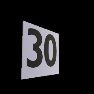 30秒ボード