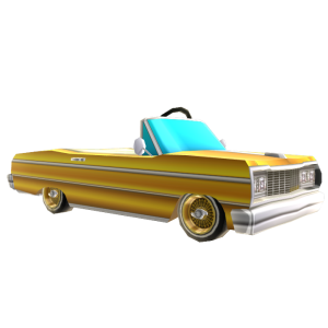 Lowrider - Gold
