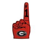 Georgia Foam Finger
