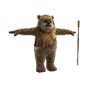 Mascota Ewok 