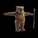 Mascota Ewok