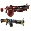 Armas dobles para nios Gunzerker 