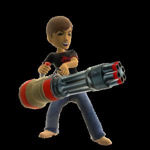 Doom 3 Toy Chain Gun