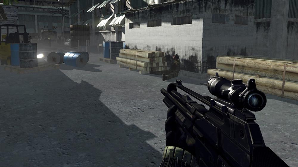 Изображение из Рекламный ролик Crysis 1