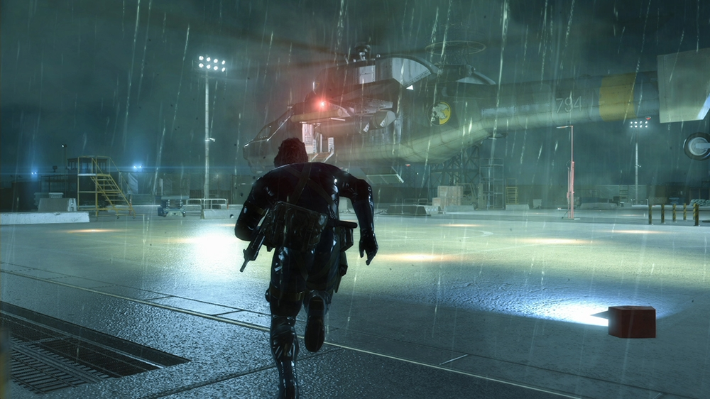 Изображение из METAL GEAR SOLID V: GROUND ZEROES 'Jamais Vu' Trailer
