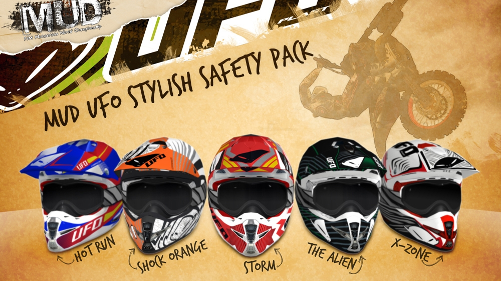 Imagen de MUD  UFO Stylish Safety Pack  