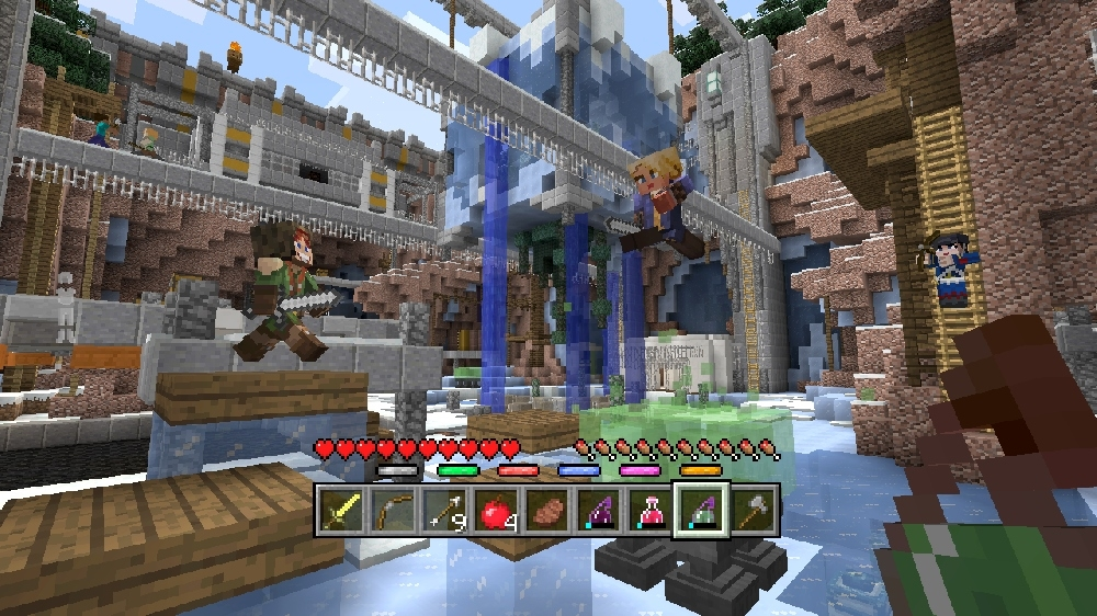 Image from Minecraft Battle Map Pack 4