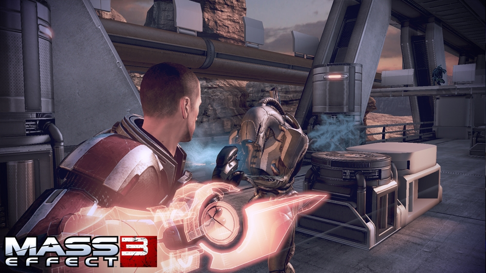 Image from Mass Effect 3 Launch Trailer