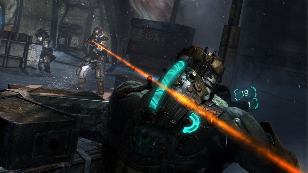 Image from Dead Space 3 Trailer