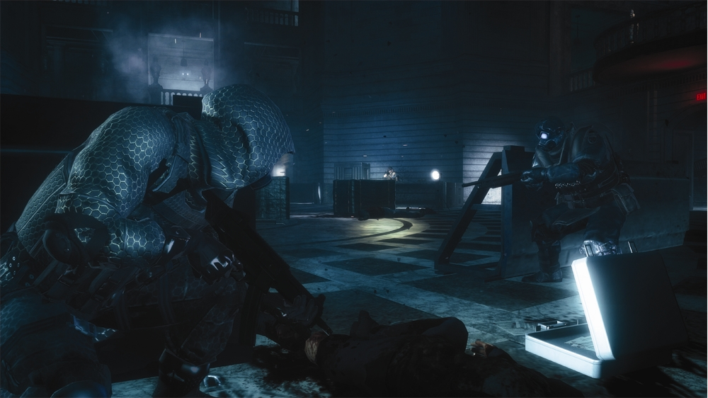Image from Resident Evil ORC, Triple Impact Trailer