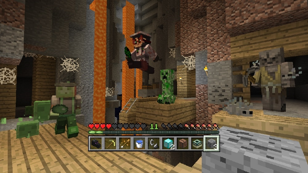 Image from Minecraft Villains Skin Pack