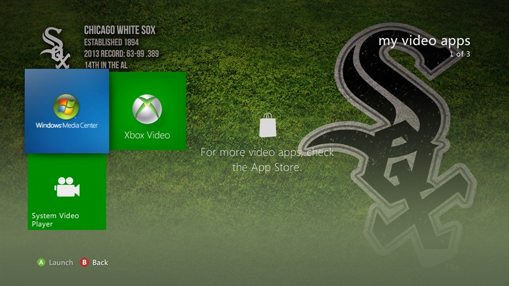 Image from MLB - White Sox Dugout Theme