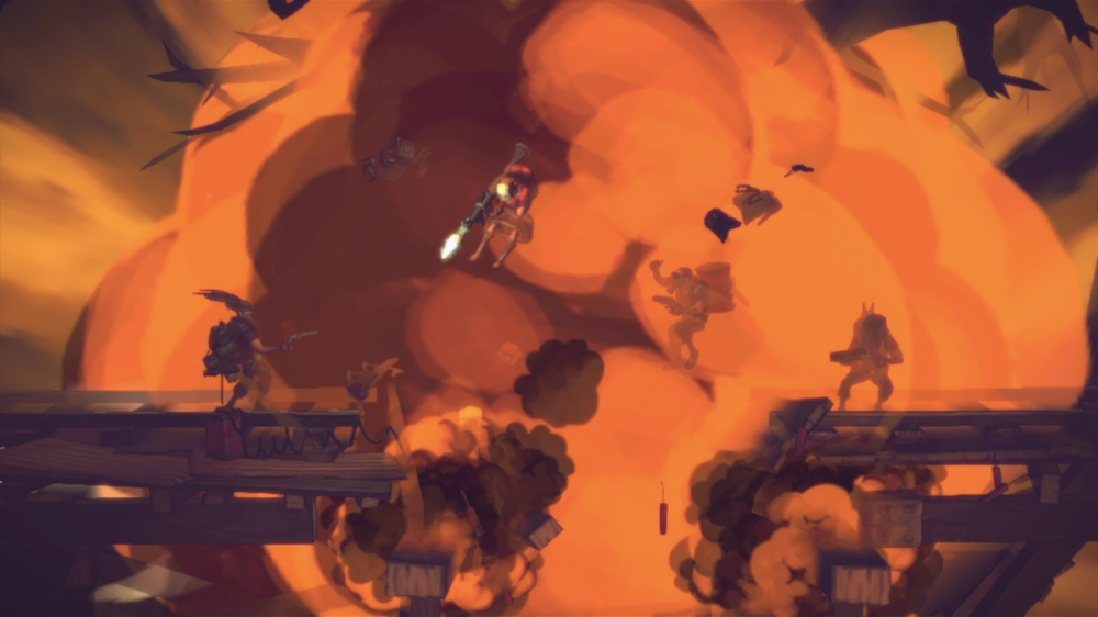 Image from Shoot Many Robots - Customization Trailer