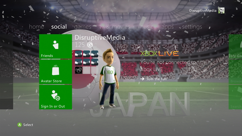 Image from World of Football - Japan Theme