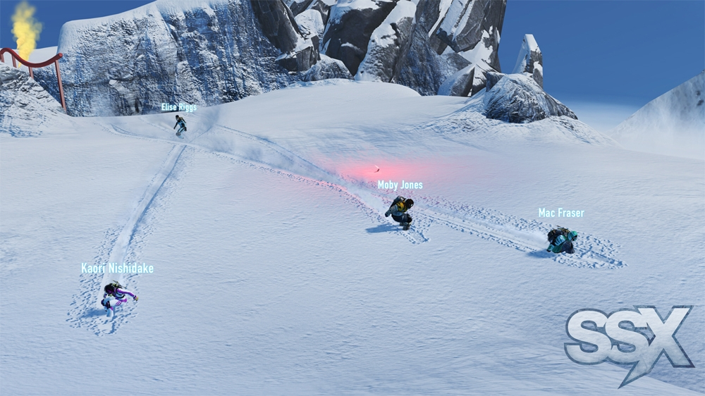 THIS IS SSX Trailer 이미지