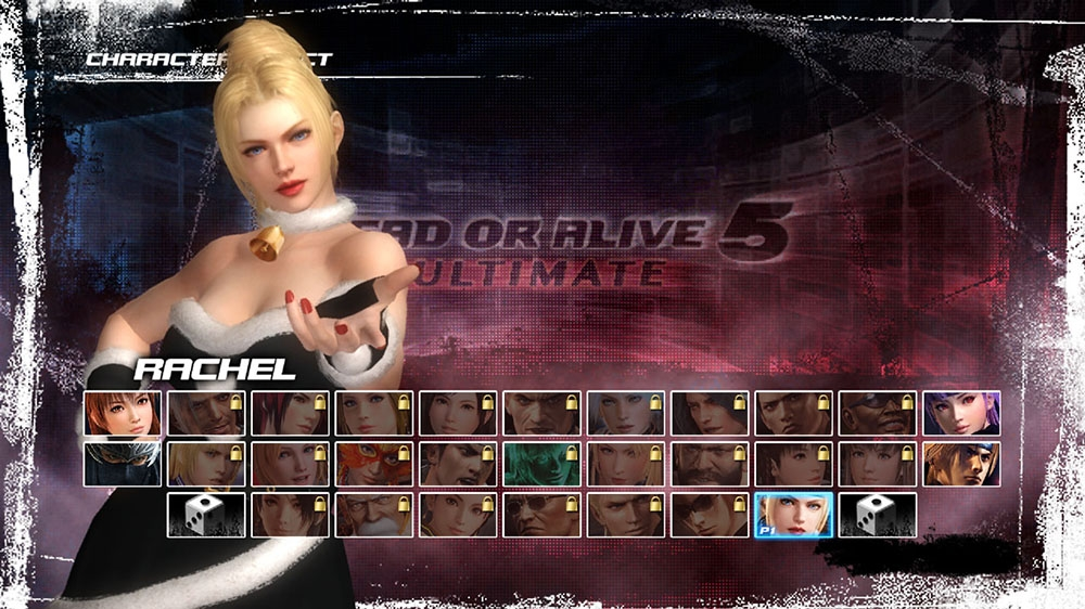 Image from Dead or Alive 5 Ultimate Santa's Helper Rachel