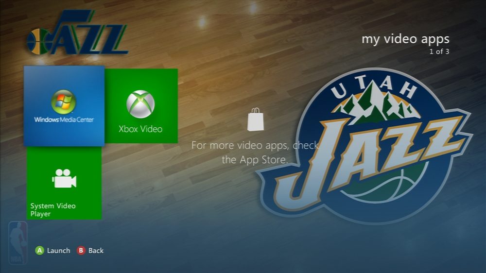 Kuva pelistä NBA: Jazz Center Court