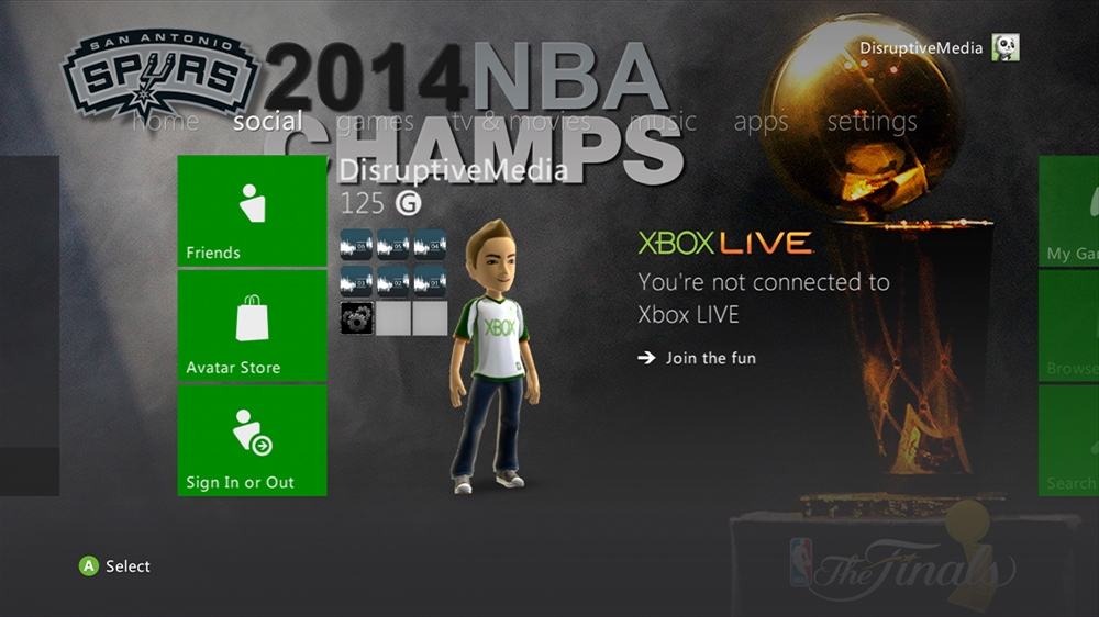 Image from NBA - Spurs 2014 Champions Theme
