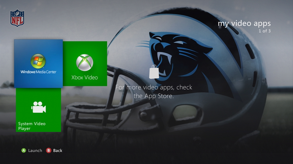 Image from NFL -  Panthers Helmet Theme