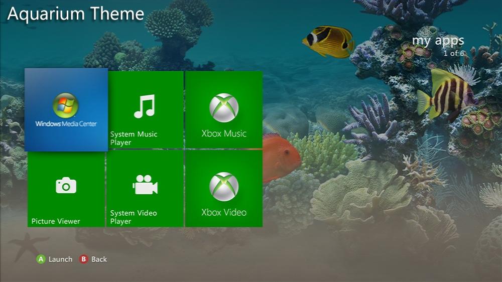 Imagen de Aquarium Premium Theme