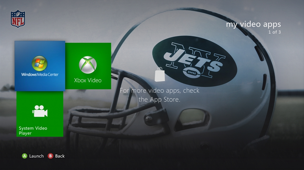 Image from NFL -  Jets Helmet Theme