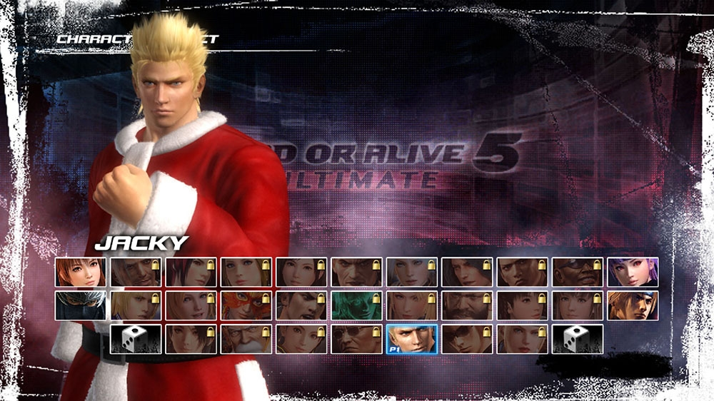 Image from Dead or Alive 5 Ultimate Santa's Helper Jacky