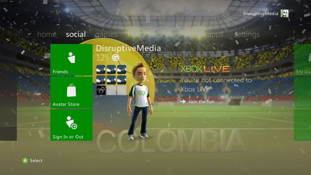 Imagen de World of Football - Colombia Theme