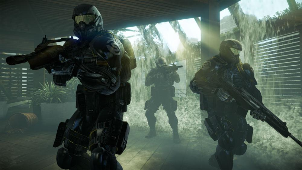 """Image from Crysis 2 """"Be Strong"""""""
