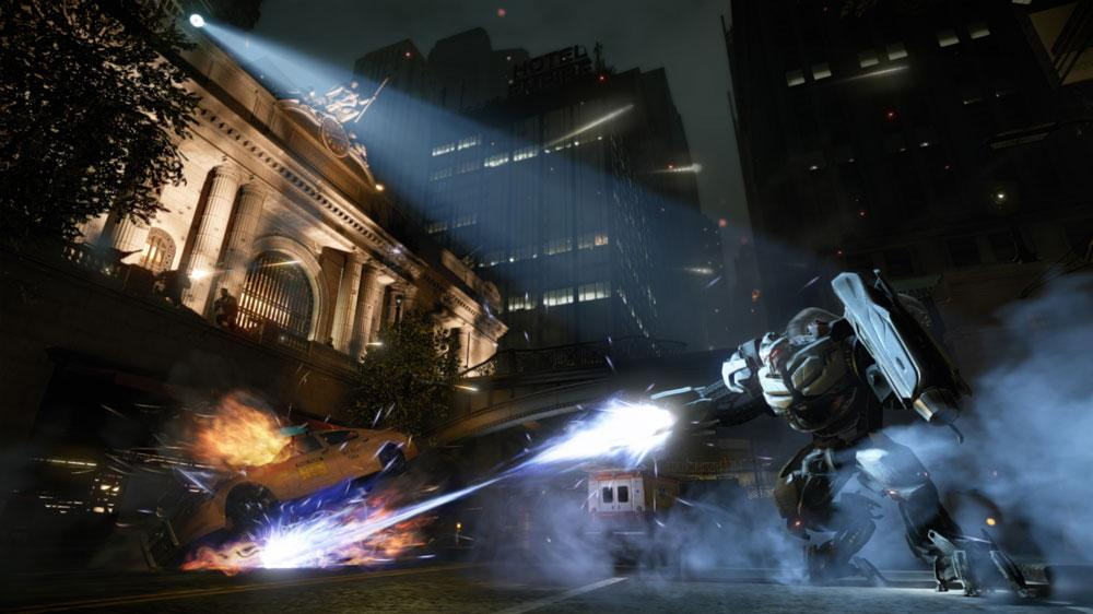 "Image from Crysis 2 ""Be Strong"""