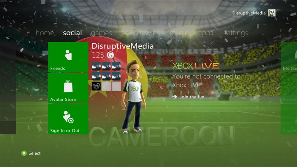 Image from World of Football - Cameroon Theme