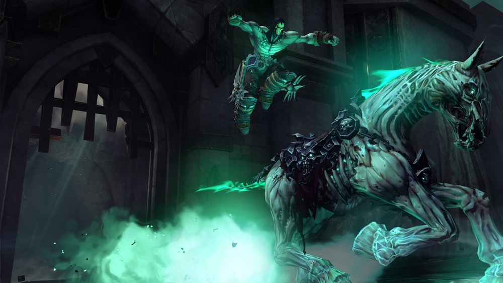 Image from Darksiders II: The Last Sermon