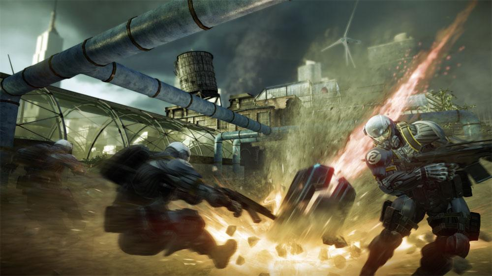 """Crysis 2 """"Be The Weapon""""  のイメージ"""