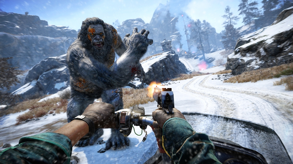 Image from FAR CRY 4 - Valley of the Yetis