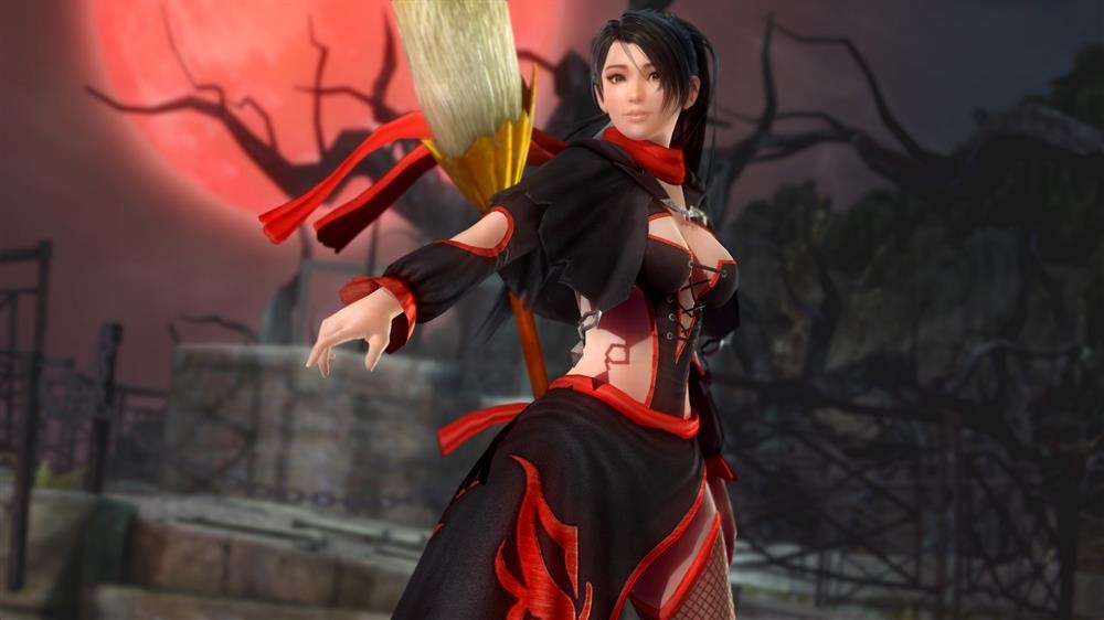 Image from DOA5LR Momiji Halloween Costume 2015
