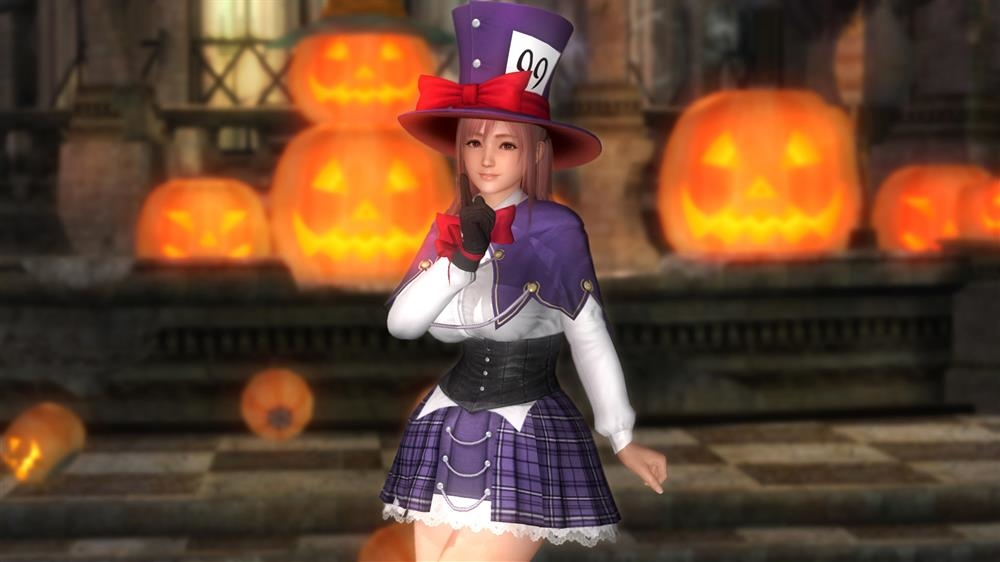 Image from DOA5LR Honoka Halloween Costume 2015