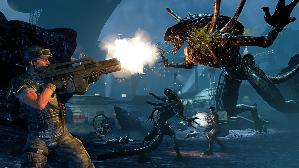 Image from Aliens: Colonial Marines - Bug Hunt DLC